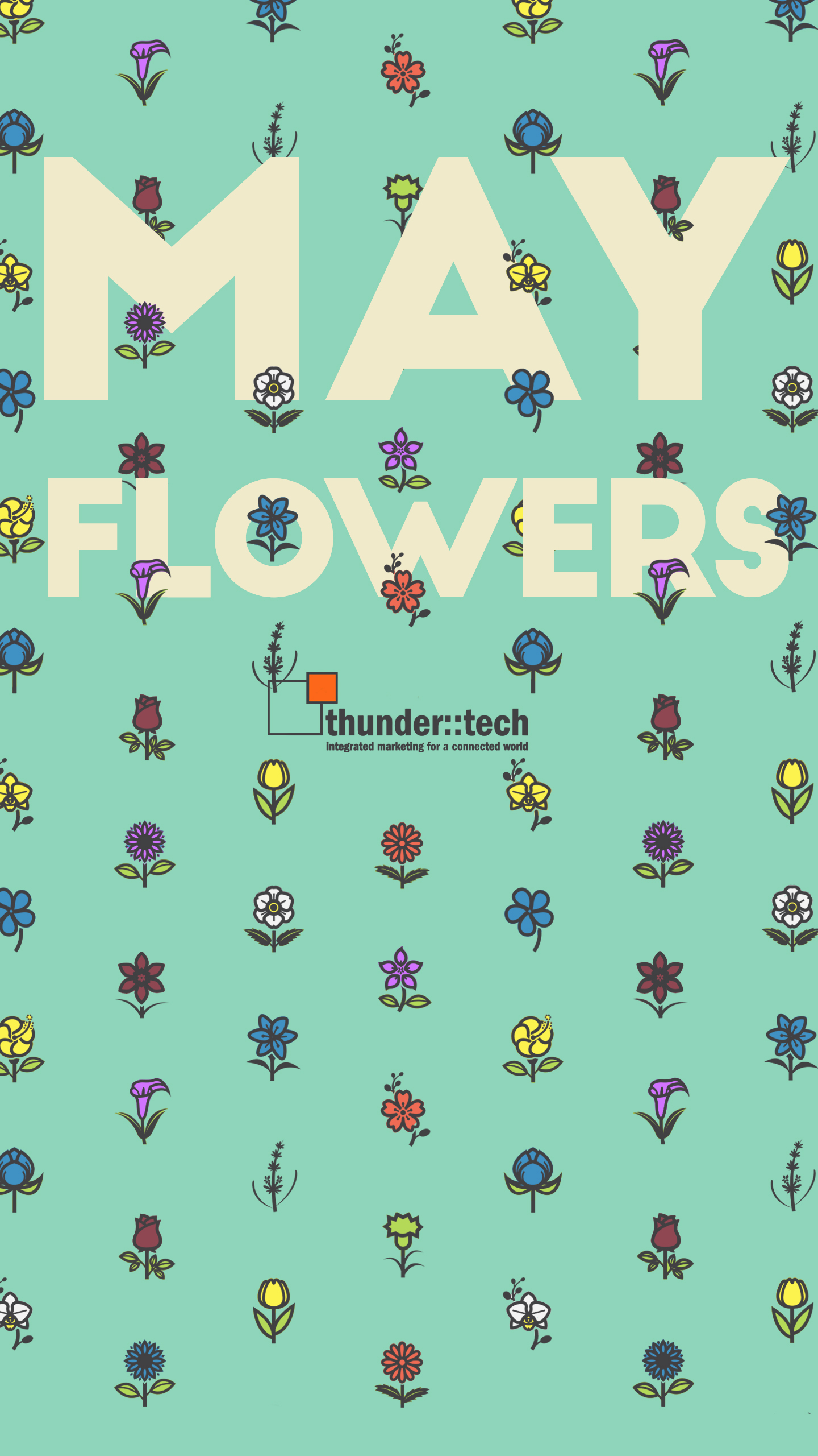 May Is In Full Bloom With Our New Monthly Wallpaper